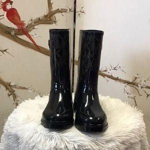 Short Michael Kors rain boots